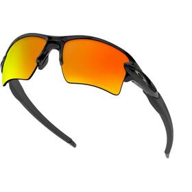 Oakley Flak 2.0 XL Brillenglas, polished black/prizm ruby polarized